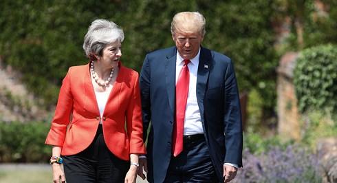 Brexit phủ bóng chuyến thăm Anh đầu tiên của Tổng thống Mỹ (15/7/2018)