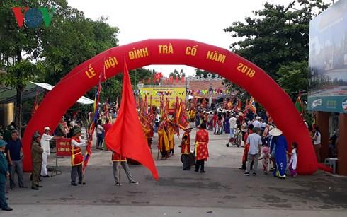 Độc đáo lễ hội đình Trà Cổ nơi địa đầu Tổ quốc (16/7/2018)
