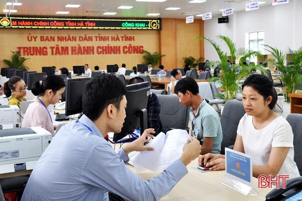 Hiệu quả sau một năm hoạt động của Trung tâm dịch vụ hành chính công ở tỉnh Hà Tĩnh (15/8/2018)