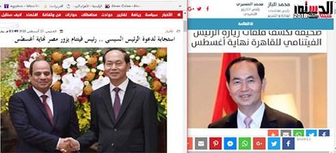 Dấu mốc mới trong lịch sử quan hệ Việt Nam và Ai Cập (27/8/2018)