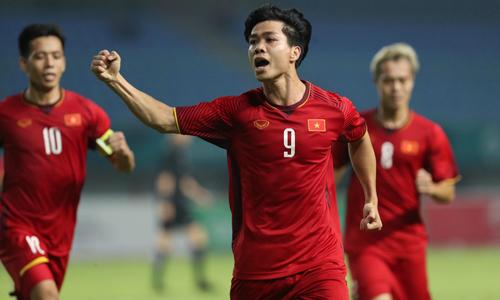 Đội tuyển Olympic Việt Nam lần đầu tiên giành quyền vào tứ kết Asiad (24/8/2018)