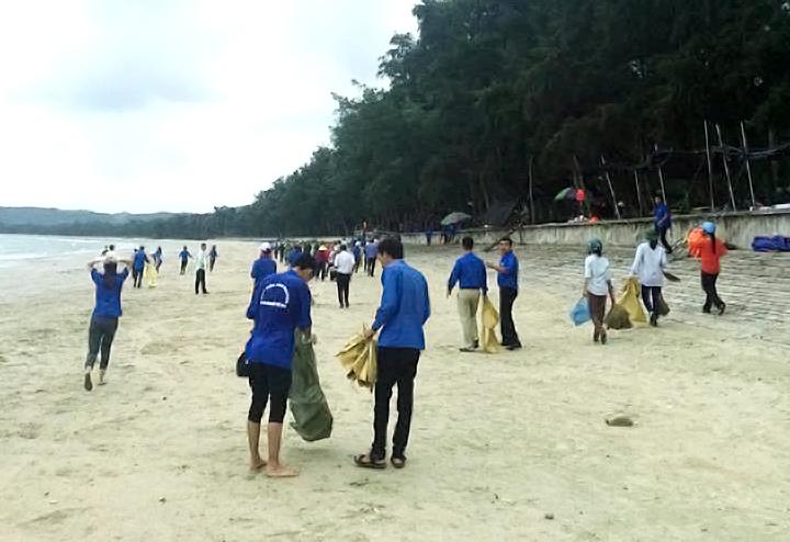 Cô Tô bảo vệ môi trường biển từ những hành động nhỏ (10/8/2018)