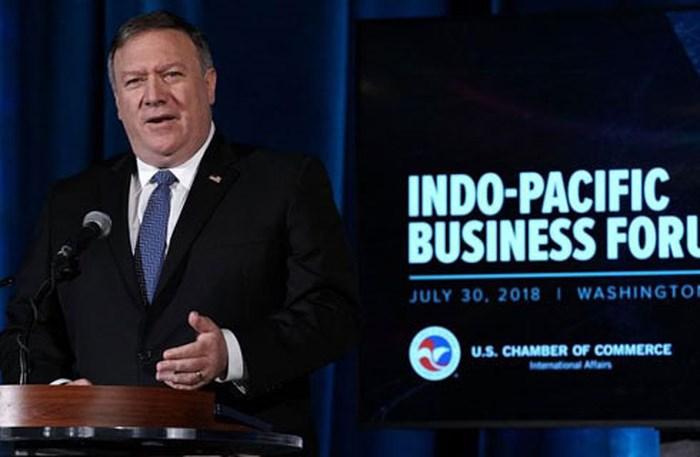 Mỹ hiện thực hóa chiến lược Ấn Độ Dương - Thái Bình Dương (2/8/2018)