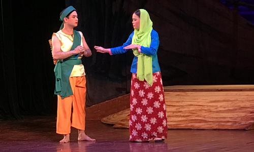 """""""Huyền thoại ngọn đồi đỏ""""- vở tuồng lấy cảm hứng từ sử thi Singapore (8/8/2018)"""