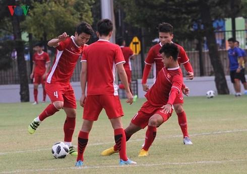 Olympic Việt Nam đang có tâm lý thoải mái, sẵn sàng chiến đấu để viết tiếp lịch sử cho bóng đá nước nhà (26/8/2018)