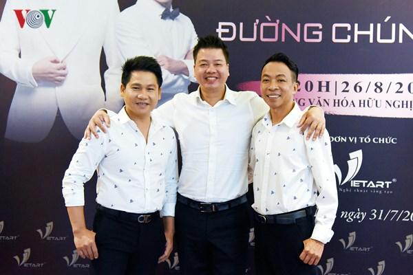 """Liveshow """"Đường chúng ta đi"""" Đăng Dương, Trọng Tấn, Việt Hoàn kỷ niệm 20 năm ca hát (18/8/2018)"""