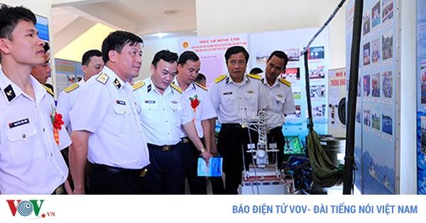 Những bông hoa biển trong phong trào thi đua quyết thắng của Bộ Tư lệnh Vùng 1 Hải Quân (11/8/2018)