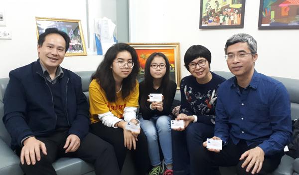 Gặp gỡ gia đình đầu tiên tại Việt Nam đăng ký hiến tạng (20/9/2018)