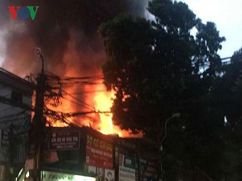 Đã xác định được danh tính hai người thiệt mạng trong vụ cháy ở đường Đê La Thành, Hà Nội (Thời sự chiều 22/9/2018)