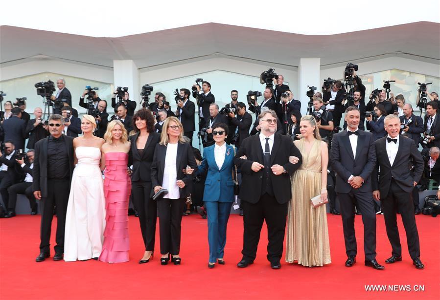 Liên hoan phim quốc tế Venice đang diễn ra ở Italia, quy tụ nhiều đạo diễn gạo cội và ngôi sao hàng đầu thế giới (3/9/2018)