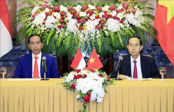 Chủ tịch nước Trần Đại Quang và Tổng thống nước Cộng hòa Indonesia Joko Widodo hội đàm và ra tuyên bố chung tăng cường quan hệ Đối tác Chiến lược (Thời sự đêm 11/9/2018)