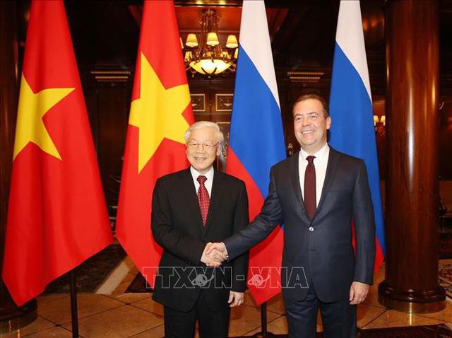 Tổng Bí thư Nguyễn Phú Trọng hội kiến Thủ tướng Liên bang Nga nhân chuyến thăm chính thức Liên bang Nga (Thời sự sáng 6/9/2018)