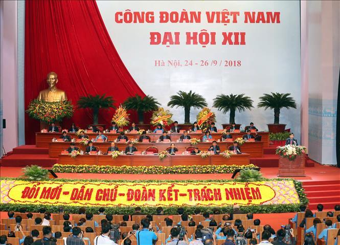 Câu chuyện phúc lợi của đoàn viên công đoàn qua Đại hội Công đoàn Việt Nam lần thứ 12 (24/9/2018)