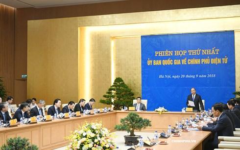 Thủ tướng Nguyễn Xuân Phúc chủ trì Phiên họp thứ nhất Ủy ban Quốc gia về Chính phủ điện tử (Thời sự chiều 20/9/2018)