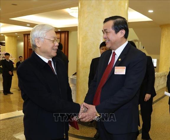 Tổng Bí thư, Chủ tịch nước Nguyễn Phú Trọng dự và chỉ đạo Hội nghị ngành Nội chính Đảng triển khai nhiệm vụ năm 2019 (Thời sự trưa 22/1/2019)