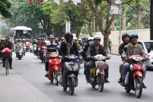 An toàn cho người đi xe máy trong giao thông hỗn hợp (15/1/2019)