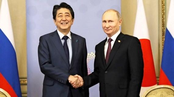 Gian nan chuyến công du Nga tìm kiếm hiệp ước hòa bình của Thủ tướng Nhật Bản (22/1/2019)