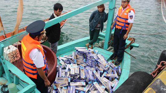 Gian nan chống buôn lậu trên biển (28/1/2019)