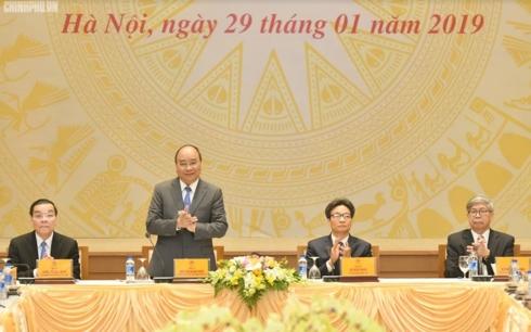 Thủ tướng Nguyễn Xuân Phúc gặp mặt, chúc Tết 300 đại biểu trí thức, nhà khoa học (Thời sự trưa 29/1/2019)