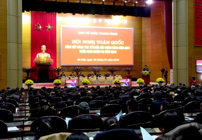 Hội nghị toàn quốc tổng kết công tác năm 2018 triển khai nhiệm vụ năm 2019 của ngành Xây dựng Đảng (Thời sự trưa 18/1/2019)