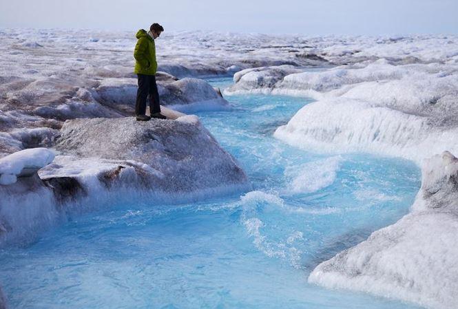 Tình trạng băng tan ở Greenland (25/1/2019)