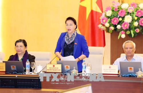 Khai mạc phiên họp thứ 30 của Ủy ban Thường vụ Quốc hội (Thời sự sáng 10/1/2019)
