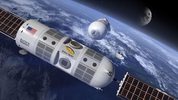 Khách sạn đầu tiên trên vũ trụ sắp ra mắt (31/1/2019)