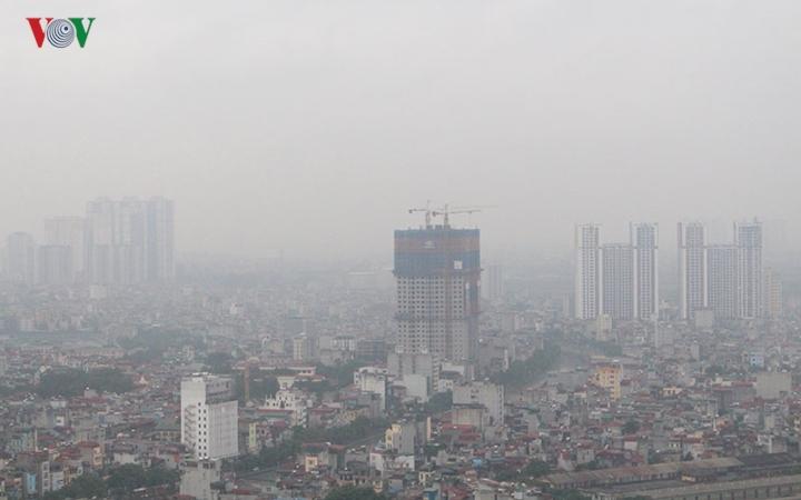 Chất lượng không khí tại Hà Nội bị ô nhiễm rất nghiêm trọng và nguy hại (28/1/2019)