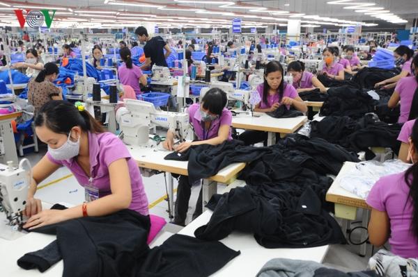 Tập đoàn Dệt may Việt Nam đã có đơn hàng đến hết quý 1 năm 2019 (2/1/2019)