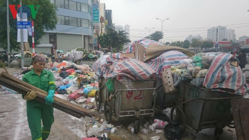 Sóc Sơn, Hà Nội: Bài toán nào xử lý ô nhiễm bãi rác Nam Sơn? (15/1/2019)