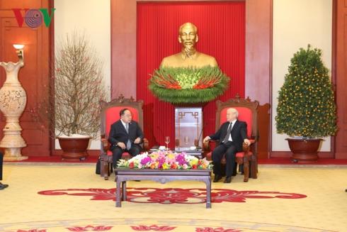 Tổng Bí thư, Chủ tịch nước Nguyễn Phú Trọng tiếp Phó Thủ tướng, Bộ trưởng Quốc phòng Thái Lan, ông Prawit Wongsuwon,  đang có chuyến thăm làm việc tại Việt Nam (Thời sự chiều 23/1/2019)
