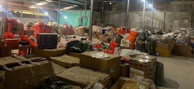 Hải Phòng: Tạm giữ gần 9.000 sản phẩm thời trang chưa rõ nguồn gốc (1/10/2019)