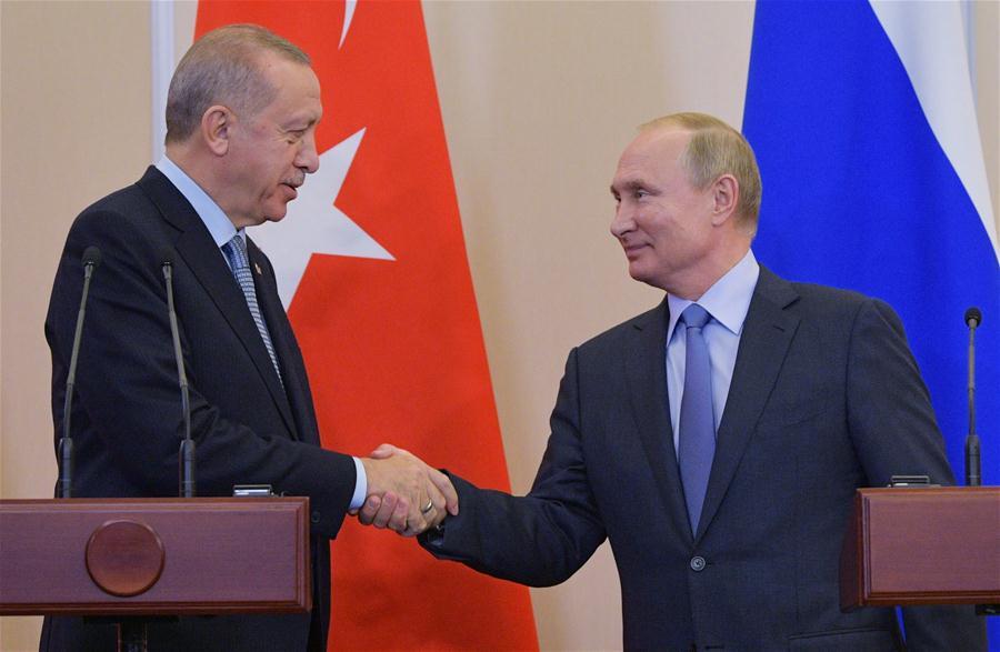 Nga, Thổ Nhĩ Kỳ đạt thỏa thuận về Syria (24/10/2019)