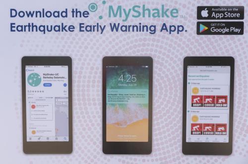 Mỹ ra mắt hệ thống cảnh báo động đất đầu tiên ở bang California (22/10/2019)