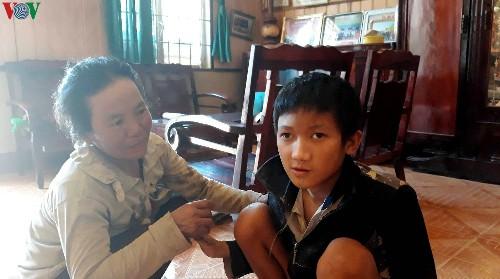 Người mẹ 9 con nhưng chưa 1 lần sinh nở với tấm lòng nhân hậu ở thị trấn Đinh Văn, huyện Lâm Hà, tỉnh Lâm Đồng (12/10/2019)