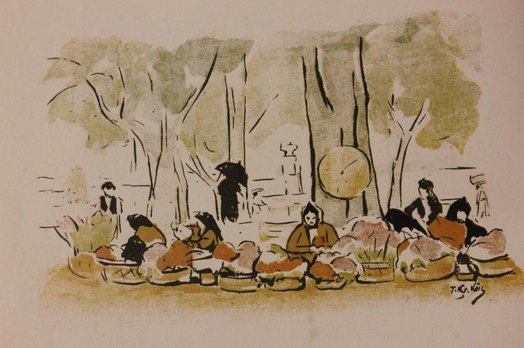 Trung tâm văn hoá Pháp tổ chức triển lãm tranh về những tiếng rao trên đường phố Hà Nội (21/10/2019)