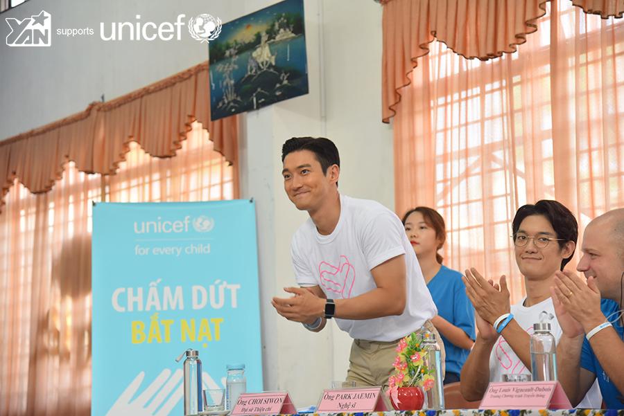 Nghệ sỹ Hàn Quốc Choi Siwon và UNICEF hợp tác nhằm chấm dứt nạn bắt nạt trẻ em ở Việt Nam (7/10/2019)