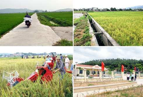 Để nông thôn mới thực chất - bền vững (13/10//2019)