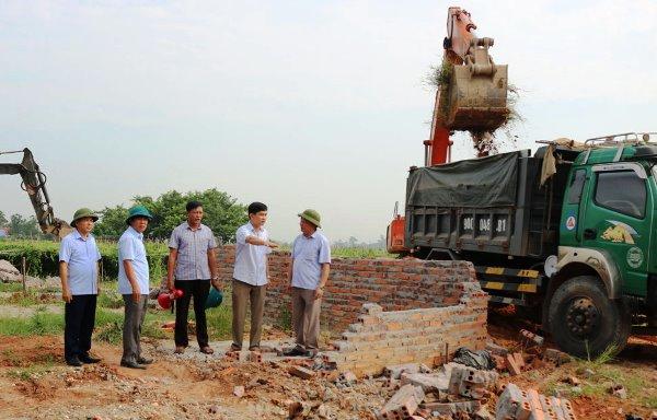 Vĩnh Phúc tăng cường xử lý vi phạm trong lĩnh vực đất đai (16/10/2019)