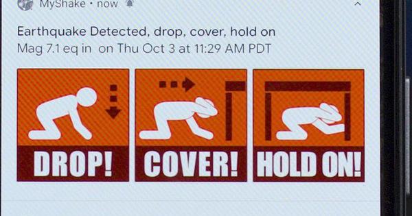 Mỹ ra mắt hệ thống cảnh báo động đất đầu tiên ở bang California (24/10/2019)