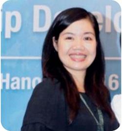 Chị Trần Thị Minh Hải – một người giàu kinh nghiệm trong huấn luyện giọng nói để tròn vành, rõ chữ, không bị mang âm sắc địa phương (6/10/2019)