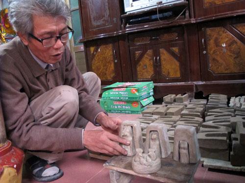 Nghệ nhân Phùng Đình Giáp: Người lưu giữ nghề làm phỗng đất xứ Kinh Bắc (24/10/2019)