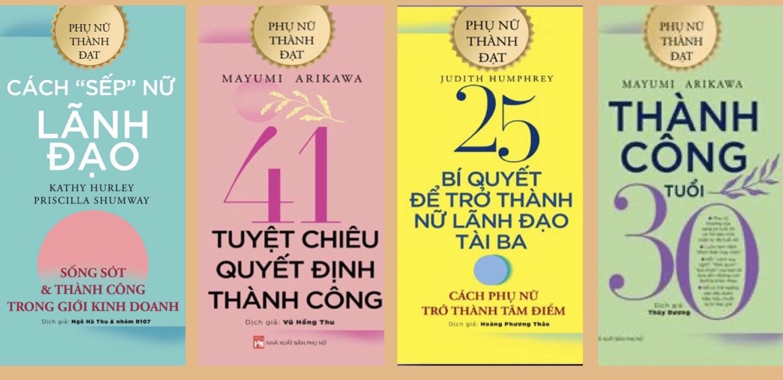 Bộ sách Phụ nữ thành đạt - thành công tuổi 30 (23/10/2019)