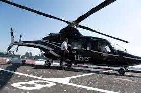 """Dịch vụ """"taxi bay"""" của Uber thông qua ứng dụng Uber Copter tại Mỹ (4/10/2019)"""
