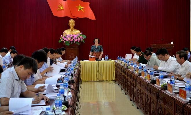 Thanh Hóa tập trung chuẩn bị Đại hội Đảng các cấp (12/11/2019)