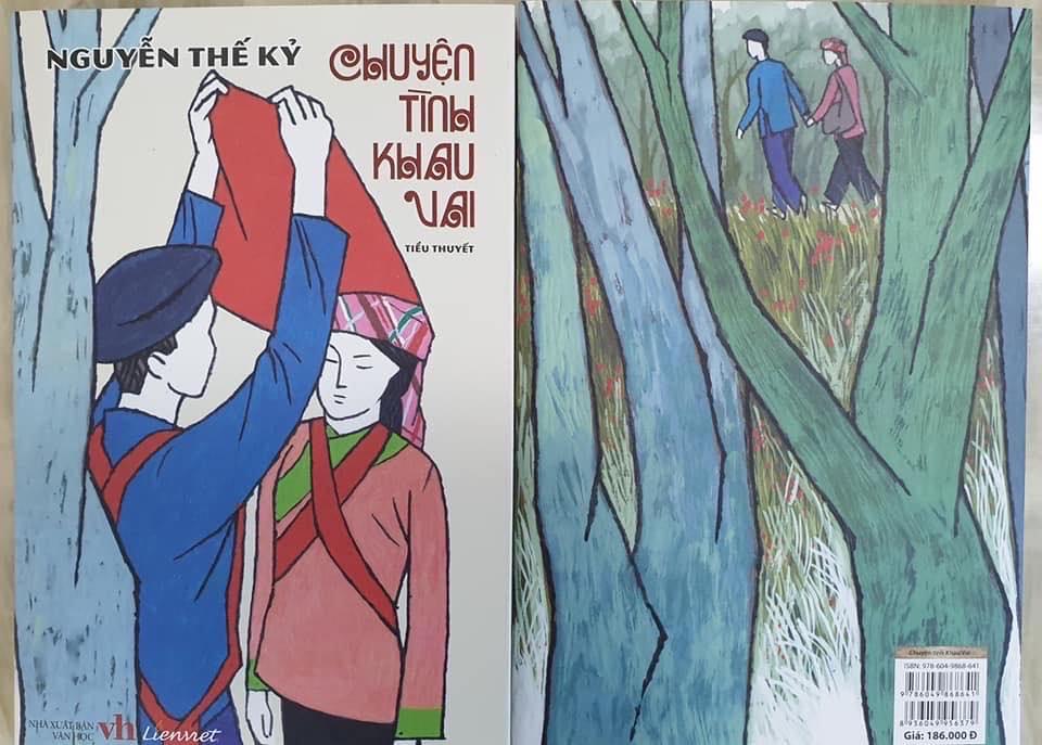 """- """"Chuyện tình Khau Vai"""" của tác giả Nguyễn Thế Kỷ: Cuốn tiểu thuyết độc đáo, với câu chuyện tình yêu sâu đậm của những con người vùng đất cao nguyên đá.(9/11/2019)"""