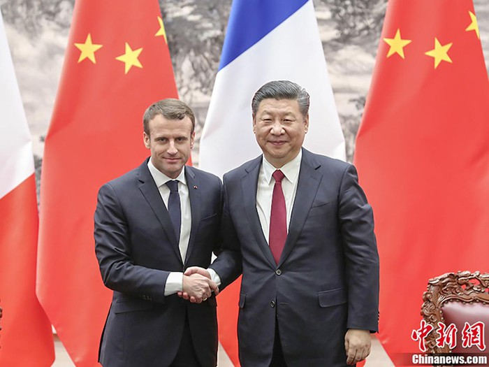 Tổng thống Pháp thăm Trung Quốc: Thúc đẩy lợi ích của cả Pháp và châu Âu (5/11/2019)