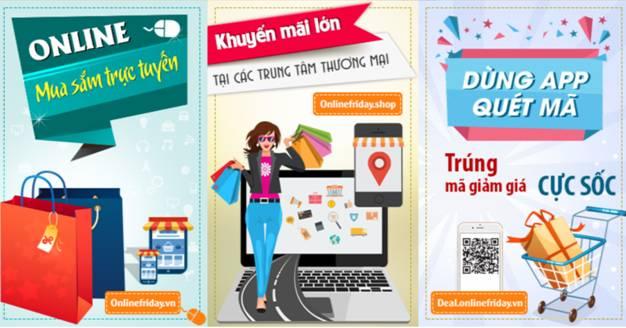 Ngày mua sắm trực tuyến - Kích cầu tiêu dùng và đẩy mạnh ứng dụng thanh toán số (29/11/2019)