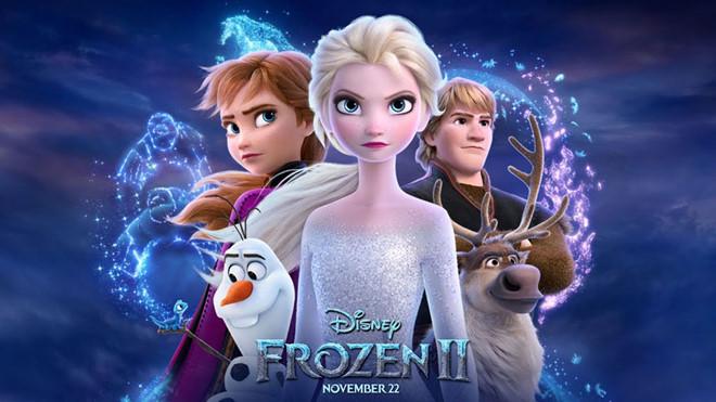 """Bộ phim hoạt hình """"Nữ hoàng Băng giá"""" phần 2 ( Frozen 2) - tiếp tục """"công phá"""" các phòng vé trên toàn thế giới (25/11/2019)"""