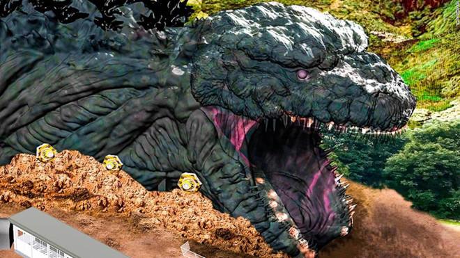 Công viên giải trí Nijigen no Mori trên đảo Awaji - Nhật Bản- sẽ ra mắt khu vực có chủ đề Godzilla vào năm 2020 (11/11/2019)